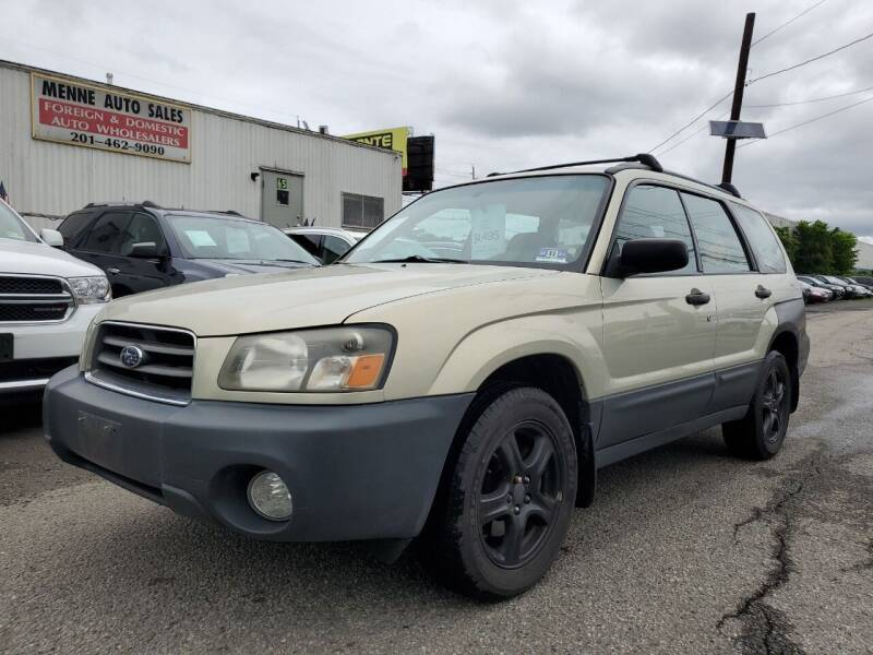 2005 Subaru Forester for sale at MENNE AUTO SALES LLC in Hasbrouck Heights NJ