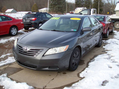 2007 Toyota Camry for sale at Summit Auto Inc in Waterford PA
