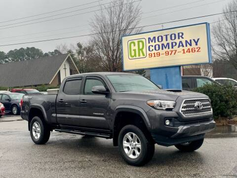 2016 Toyota Tacoma for sale at GR Motor Company in Garner NC
