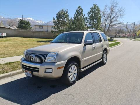 2007 Mercury Mountaineer for sale at A.I. Monroe Auto Sales in Bountiful UT