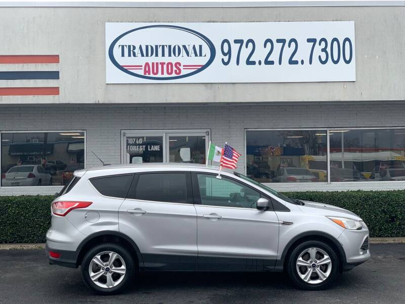 2013 Ford Escape for sale at Traditional Autos in Dallas TX
