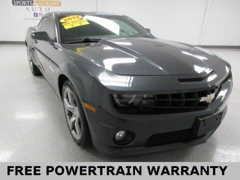 2012 Chevrolet Camaro for sale at Sports & Luxury Auto in Blue Springs MO