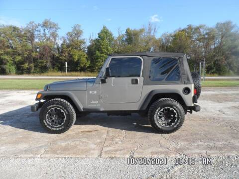 2004 Jeep Wrangler for sale at Town and Country Motors in Warsaw MO