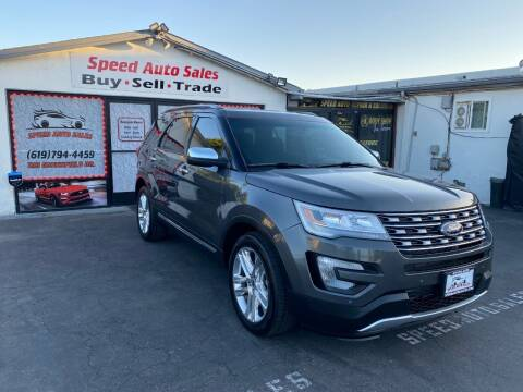 2016 Ford Explorer for sale at Speed Auto Sales in El Cajon CA