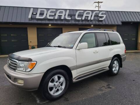 2005 Toyota Land Cruiser for sale at I-Deal Cars in Harrisburg PA