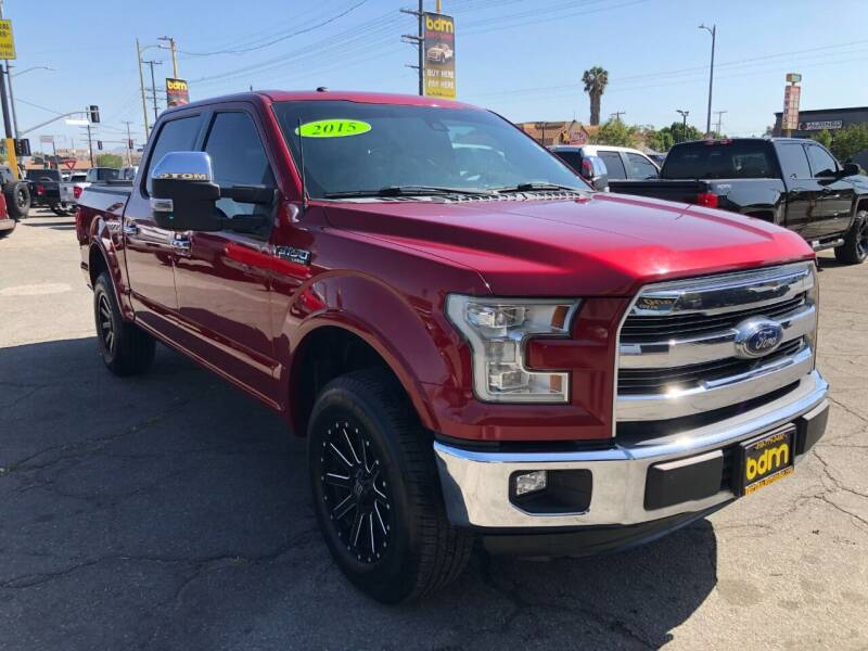 2015 Ford F-150 for sale at BEST DEAL MOTORS  INC. CARS AND TRUCKS FOR SALE in Sun Valley CA