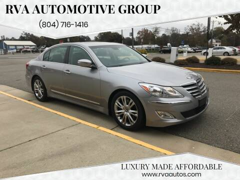 2012 Hyundai Genesis for sale at RVA Automotive Group in North Chesterfield VA