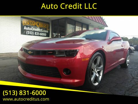 2014 Chevrolet Camaro for sale at Auto Credit LLC in Milford OH