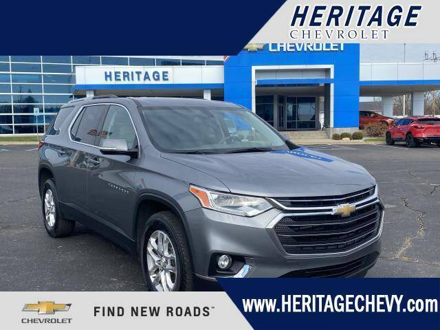 2018 Chevrolet Traverse for sale at HERITAGE CHEVROLET INC in Creek MI