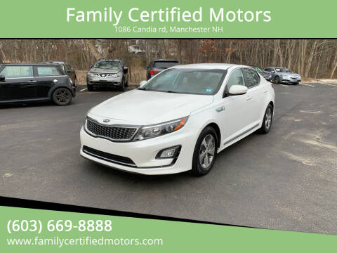 2014 Kia Optima Hybrid for sale at Family Certified Motors in Manchester NH