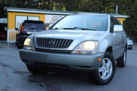 2000 Lexus RX 300 for sale at Go Auto Sales in Gainesville GA