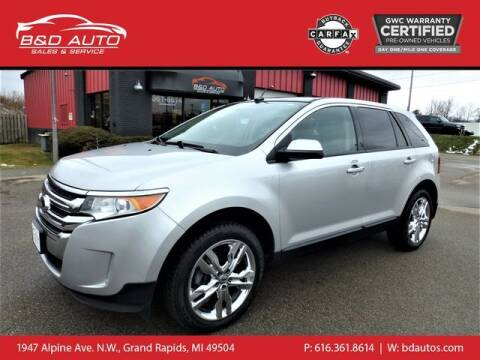 2014 Ford Edge for sale at B&D Auto Sales Inc in Grand Rapids MI