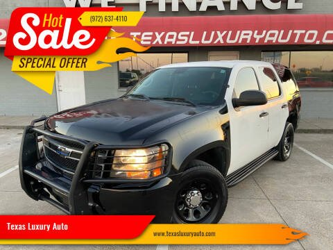 2009 Chevrolet Tahoe for sale at Texas Luxury Auto in Cedar Hill TX