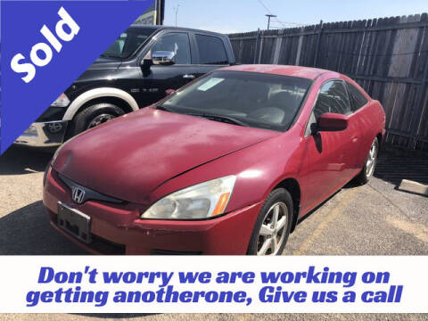 2005 Honda Accord for sale at RIVERCITYAUTOFINANCE.COM in New Braunfels TX