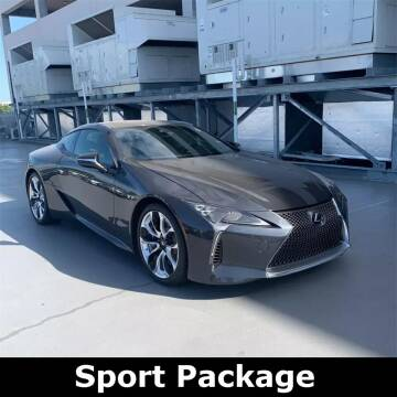 2018 Lexus LC 500 for sale at Coast to Coast Imports in Fishers IN
