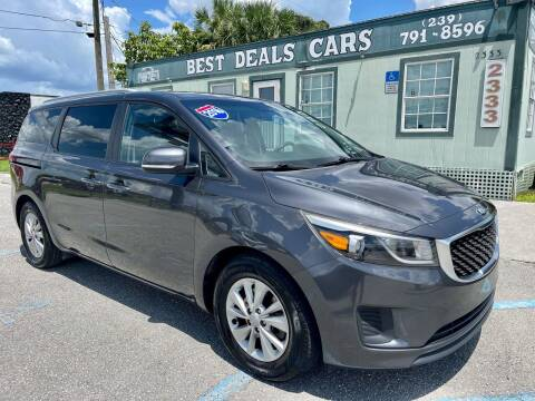 2016 Kia Sedona for sale at Best Deals Cars Inc in Fort Myers FL