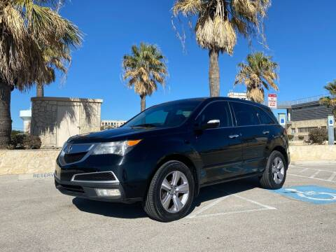 2013 Acura MDX for sale at Motorcars Group Management - Bud Johnson Motor Co in San Antonio TX