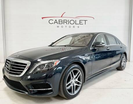 2015 Mercedes-Benz S-Class for sale at Cabriolet Motors in Morrisville NC