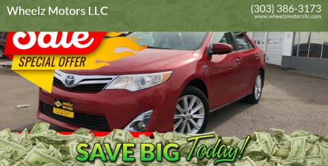 2014 Toyota Camry Hybrid for sale at GPS Motors in Denver CO