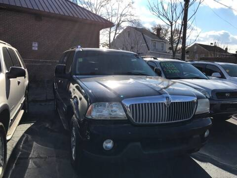 2003 Lincoln Aviator for sale at Chambers Auto Sales LLC in Trenton NJ