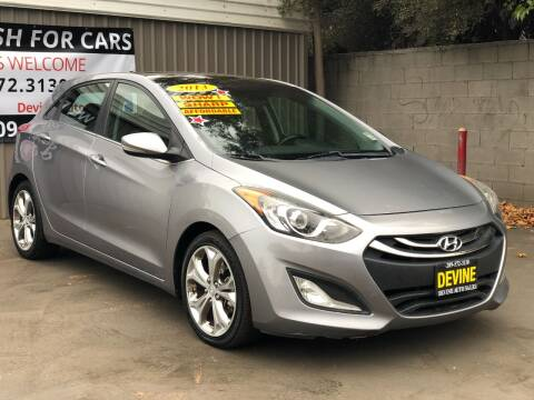 2013 Hyundai Elantra GT for sale at Devine Auto Sales in Modesto CA