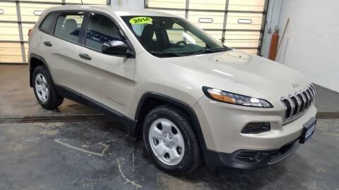 2014 Jeep Cherokee for sale at Falleti Motors, Inc.  est. 1976 in Batavia NY