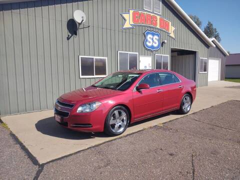 2012 Chevrolet Malibu for sale at CARS ON SS in Rice Lake WI