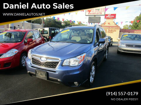 2016 Subaru Forester for sale at Daniel Auto Sales in Yonkers NY
