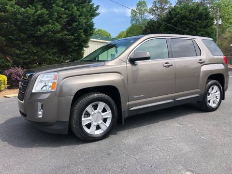 2012 GMC Terrain for sale at GTO United Auto Sales LLC in Lawrenceville GA