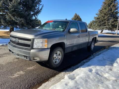 2007 Chevrolet Silverado 1500 for sale at BELOW BOOK AUTO SALES in Idaho Falls ID