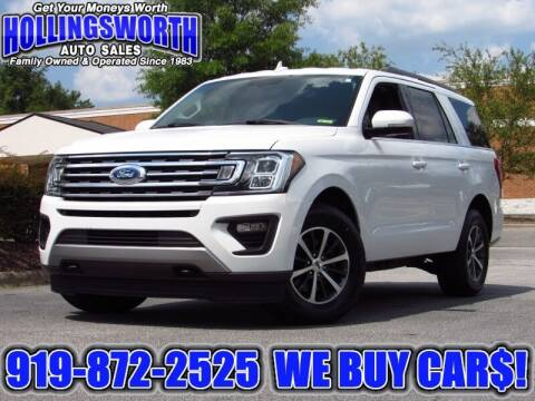 2018 Ford Expedition for sale at Hollingsworth Auto Sales in Raleigh NC