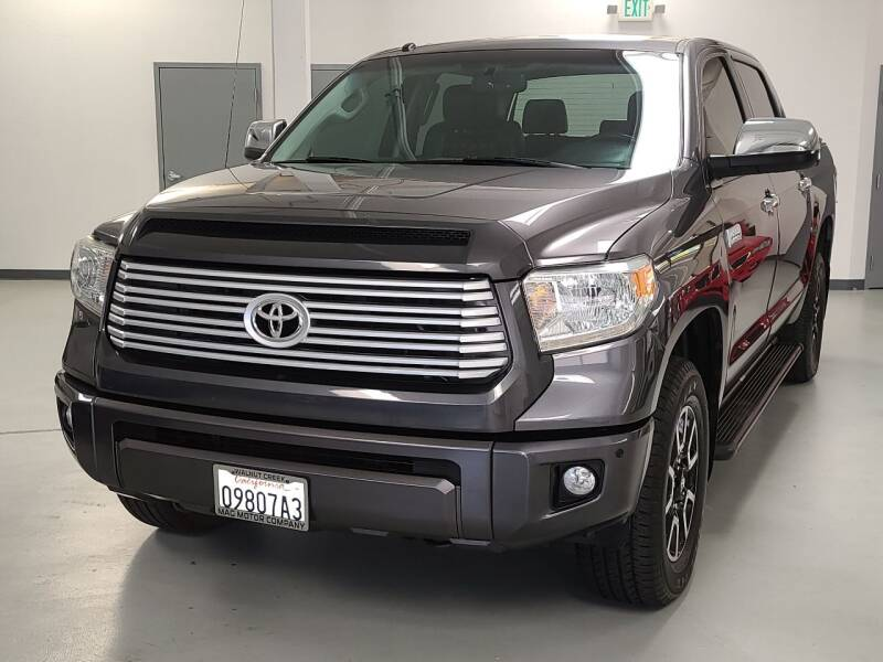 2014 Toyota Tundra for sale at Mag Motor Company in Walnut Creek CA
