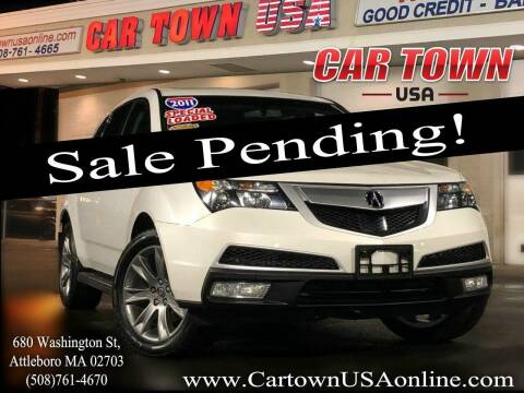 2011 Acura MDX for sale at Car Town USA in Attleboro MA