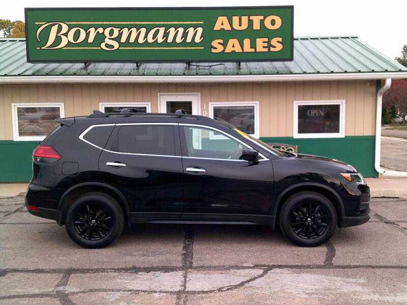 2017 Nissan Rogue for sale at Borgmann Auto Sales in Norfolk NE