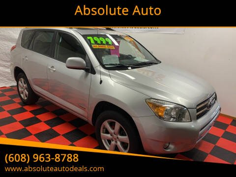 2007 Toyota RAV4 for sale at Absolute Auto in Baraboo WI