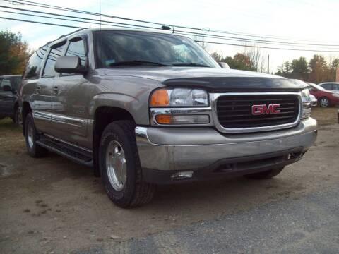 2002 GMC Yukon XL for sale at Frank Coffey in Milford NH
