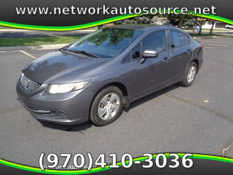 2014 Honda Civic for sale at Network Auto Source in Loveland CO