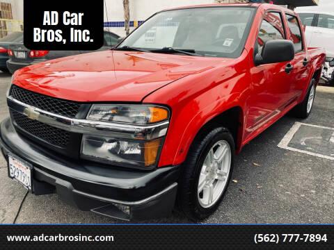 2004 Chevrolet Colorado for sale at AD Car Bros, Inc. in Whittier CA