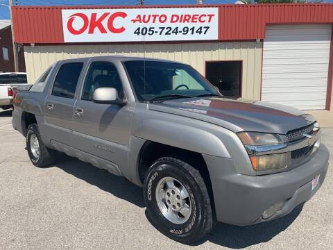 2002 Chevrolet Avalanche for sale at OKC Auto Direct in Oklahoma City OK