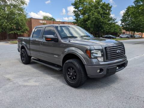 2012 Ford F-150 for sale at United Luxury Motors in Stone Mountain GA