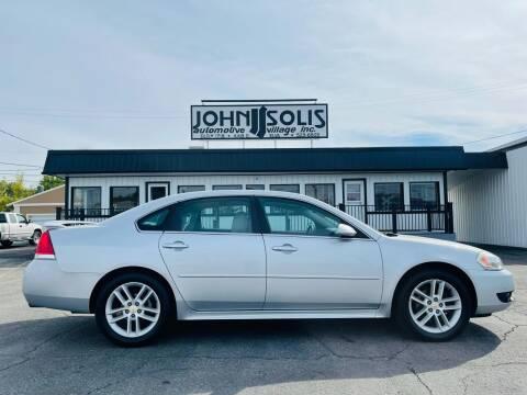 2012 Chevrolet Impala for sale at John Solis Automotive Village in Idaho Falls ID