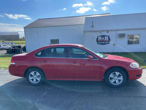 2013 Chevrolet Impala for sale at B & B Sales 1 in Decorah IA