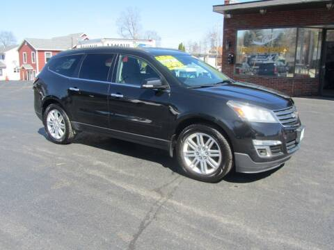 2013 Chevrolet Traverse for sale at Key Motors in Mechanicville NY