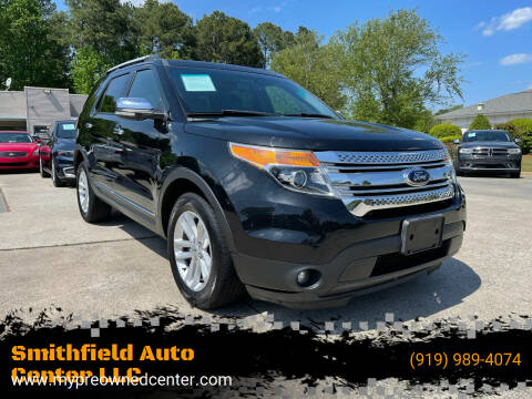2015 Ford Explorer for sale at Smithfield Auto Center LLC in Smithfield NC