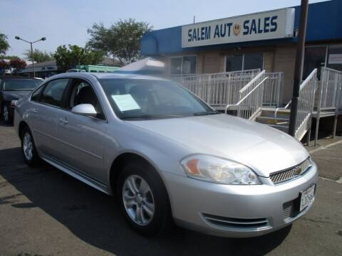 2015 Chevrolet Impala Limited for sale at Salem Auto Sales in Sacramento CA