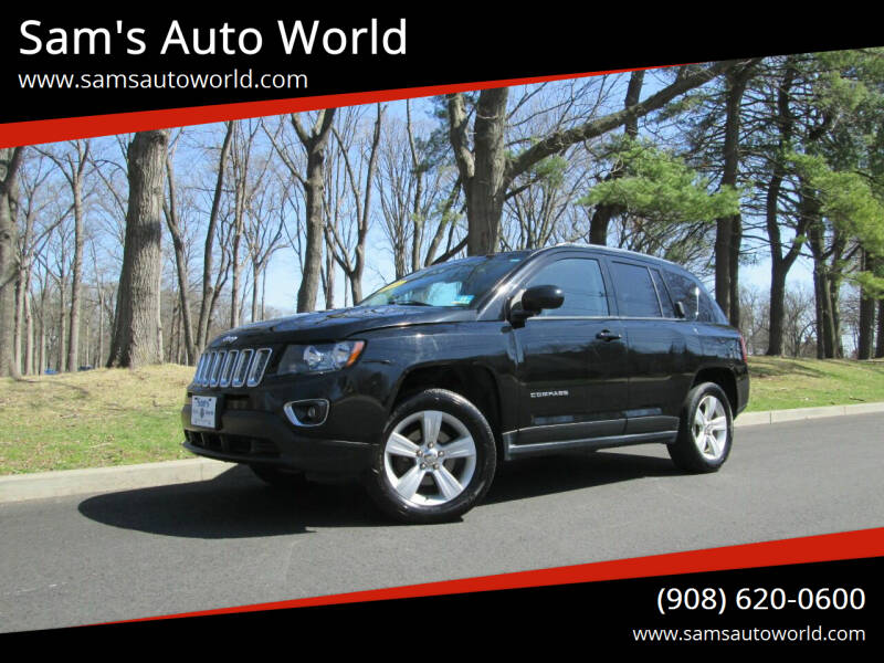 2015 Jeep Compass for sale at Sam's Auto World in Roselle NJ