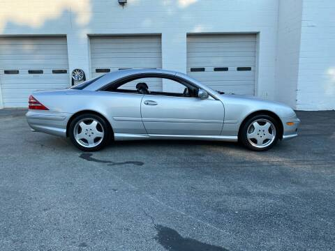 2002 Mercedes-Benz CL-Class for sale at Broadway Motor Sales and Auto Brokers in North Chelmsford MA
