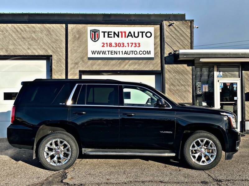 2016 GMC Yukon for sale at Ten 11 Auto LLC in Dilworth MN