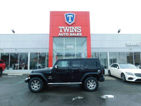 2014 Jeep Wrangler Unlimited for sale at Twins Auto Sales Inc Redford 1 in Redford MI