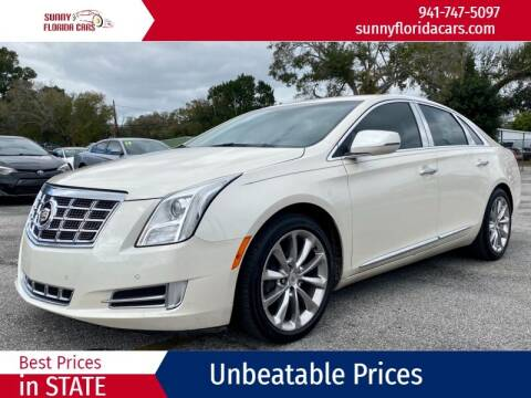 2013 Cadillac XTS for sale at Sunny Florida Cars in Bradenton FL